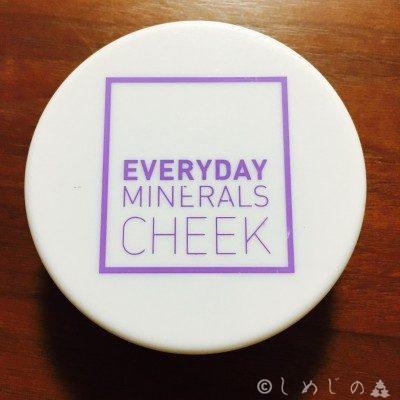 アイハーブ(iHerb)Everyday Minerals ミネラルチーク ケース